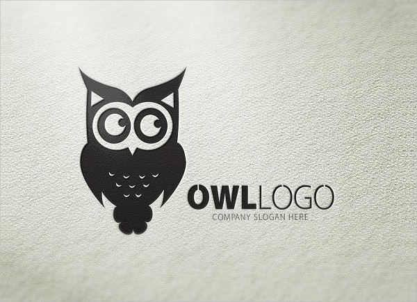 Logo with an Owl