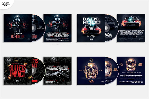 Mixtape Album CD Cover Templates