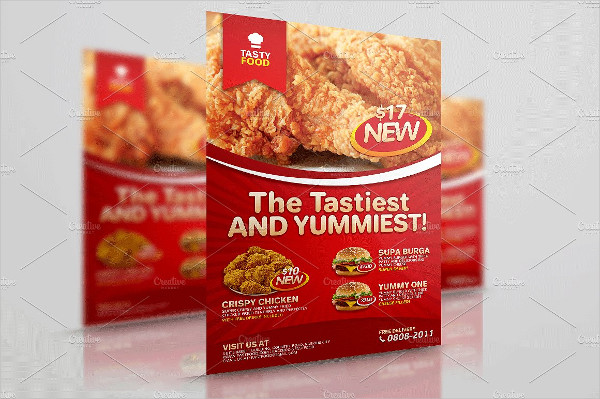 Modern Fast Food Flyer Template