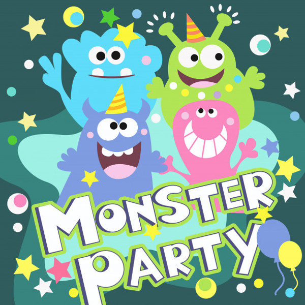Monster Party Poster Free
