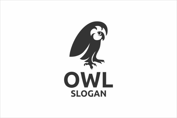 Owl Communications Logo Template