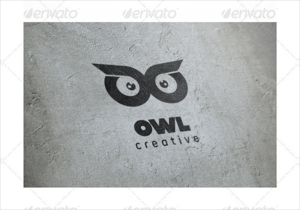 Owl Eyes Logo Template