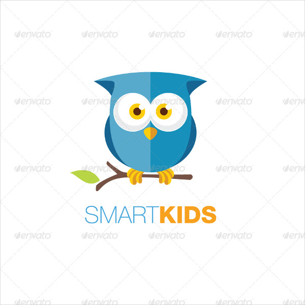 Owl logo for Playful Company