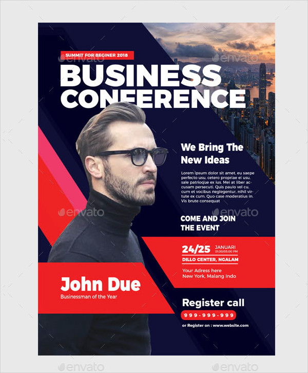 Professional Business Conference Flyer