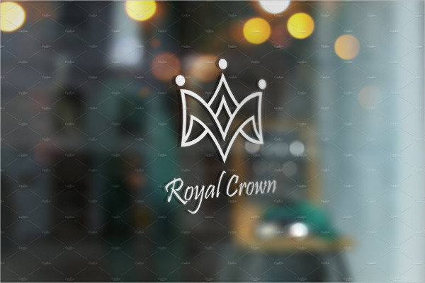 Royal Crown Logo Template