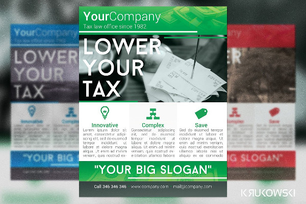 Tax Office Flyer