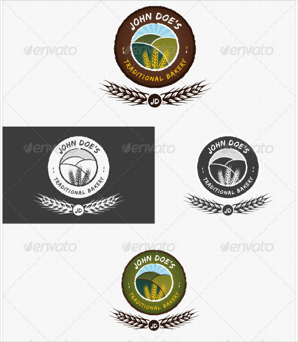 Traditional Bakery or Baking Logo
