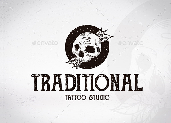 Traditional Tattoo Studio Logo