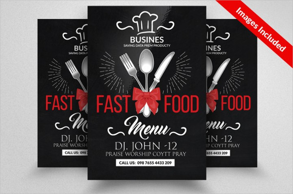 Vintage Key Food Flyer Template