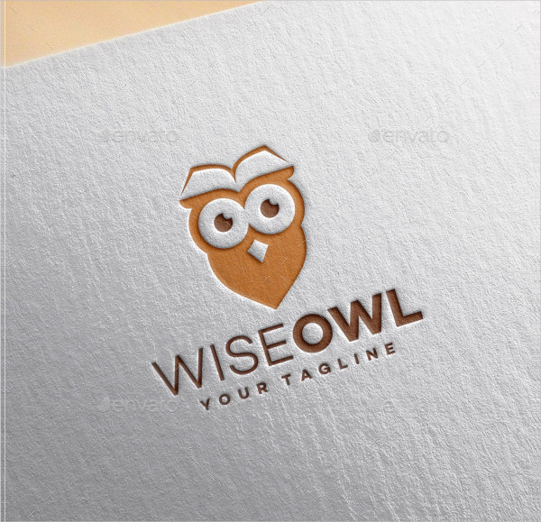 Wise Owl Design Logo Template