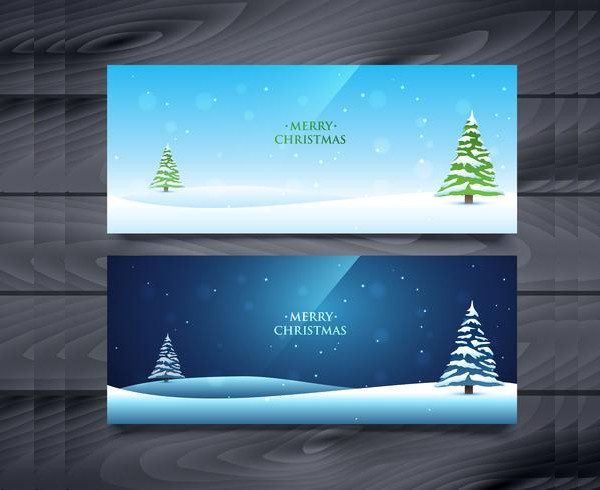 Christmas Banners Free Download