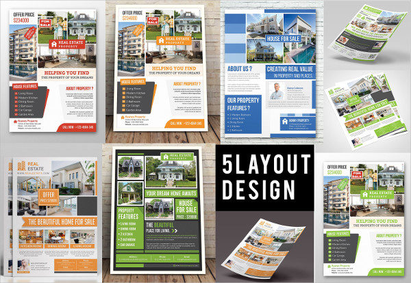 Cool Real Estate Flyer Template