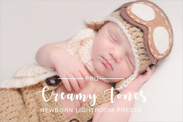 Creamy Tones Newborn Photoshop Actions