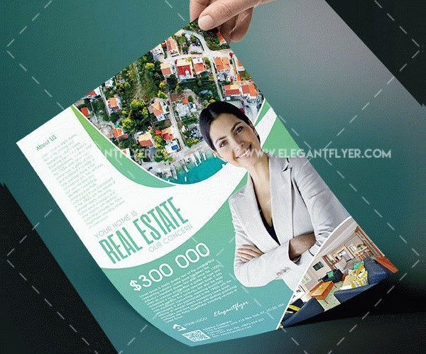 Free PSD House for Sale Flyer Template