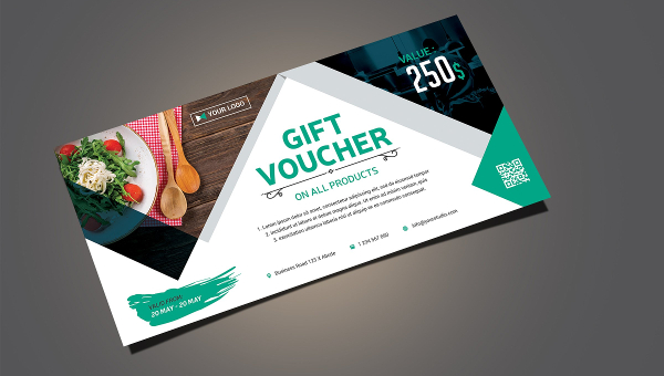 Business Gift Voucher Templates