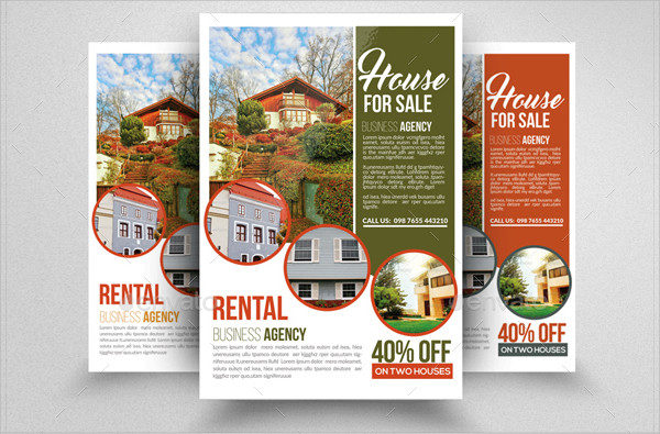 Printable House For Sale Flyers