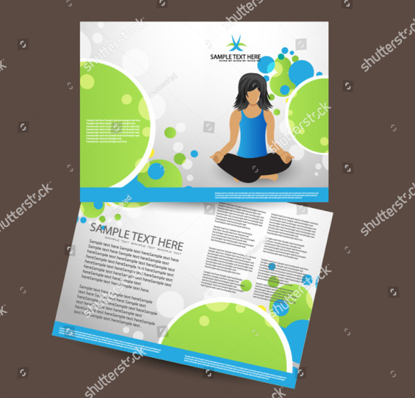 Printable Yoga Brochure Design