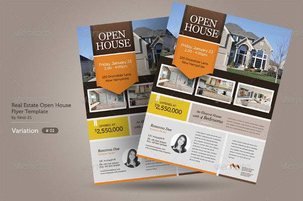 Flyers for Open House