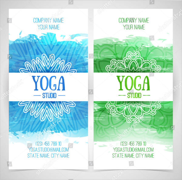 Set of Yoga Studio Brochures