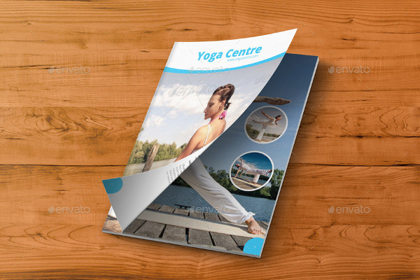Stylish Yoga Center Brochure