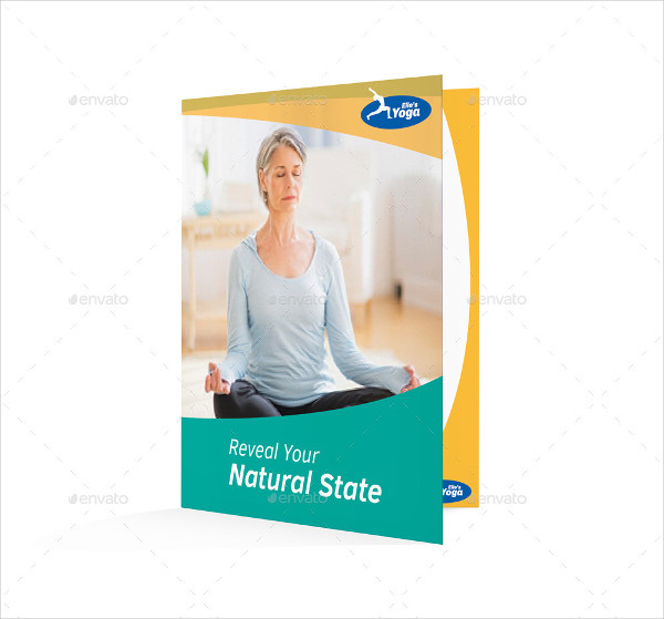 Yoga Fitness Bifold Brochure