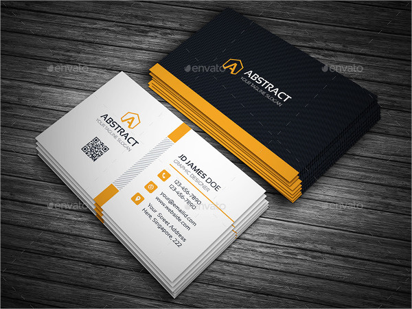 Abstract Corporate Business Cards Template