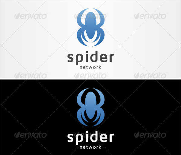 Blue Spider Network Logo Template