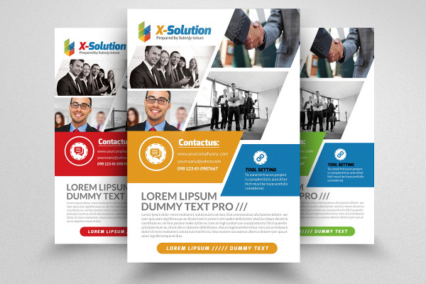 Printable Business Training Agency Flyer