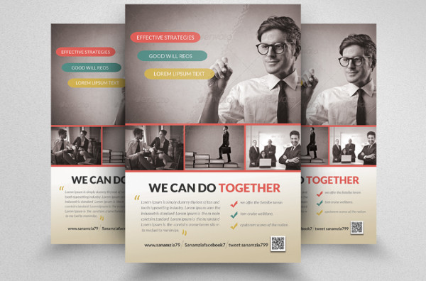 Business Training Agent Flyers