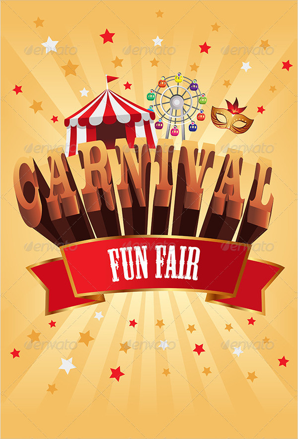 Carnival Winter Poster Template
