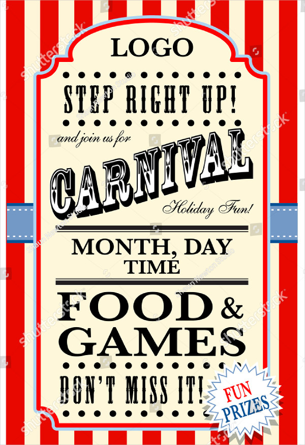 Carnival Music Poster Template