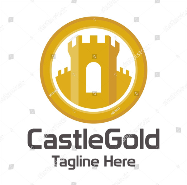 Castle Protection Logo Template