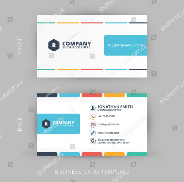 Clean Personal Business Cards