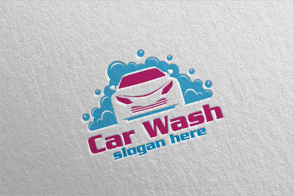 Cleaning Car Services Vector Logo Design