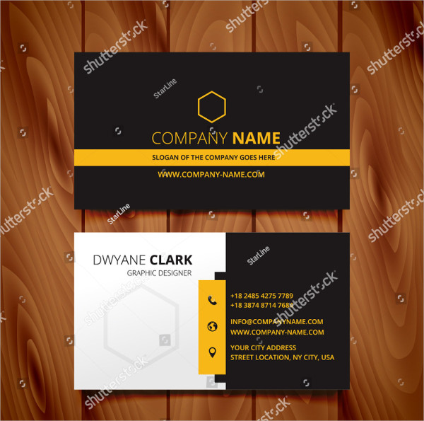 Corporate Identity Business Card Template