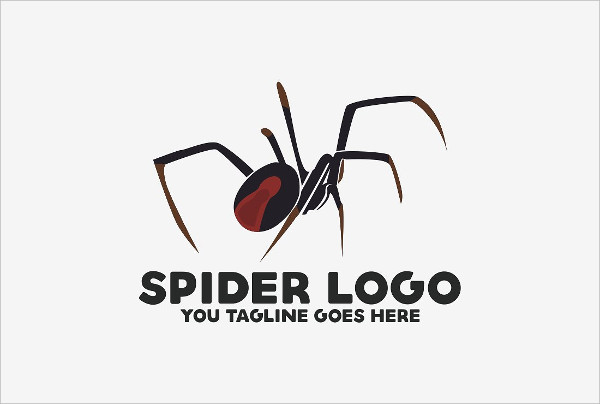 Creative Spiderman Logo Design