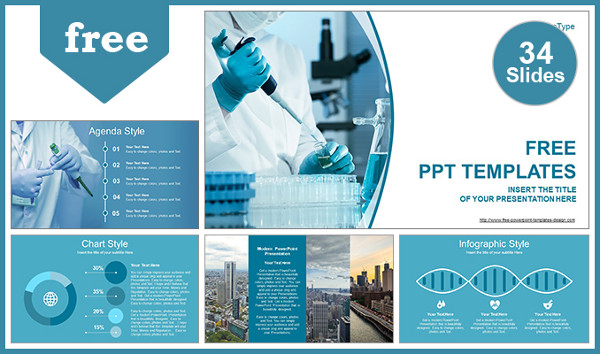 Free Medical Development Powerpoint Template