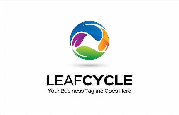 Leaf Cycle Logo Template