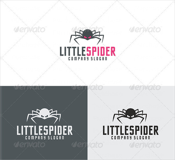 Little Spider Logo Design