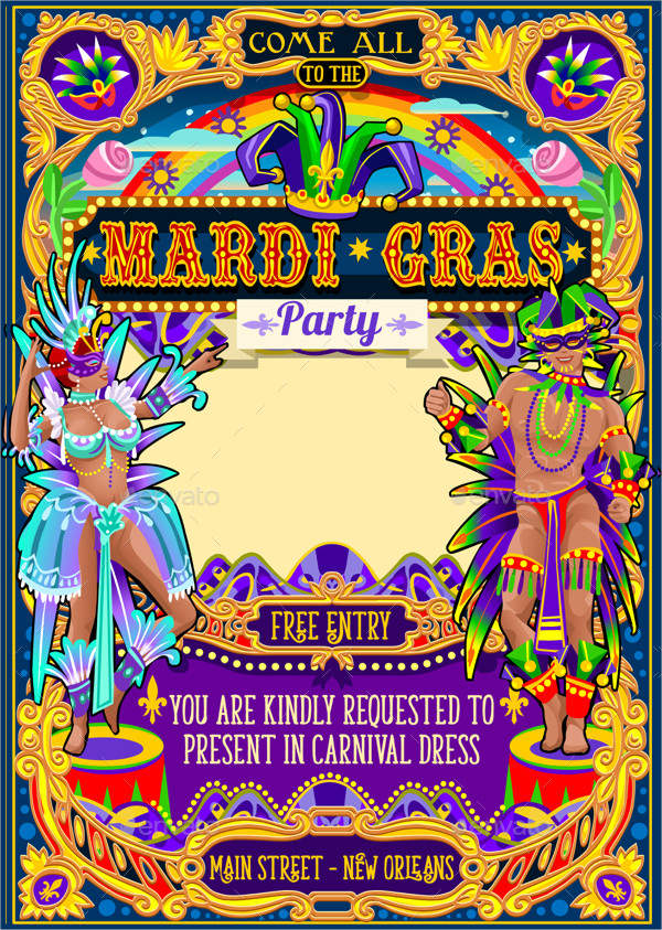 Carnival Themed Poster Template