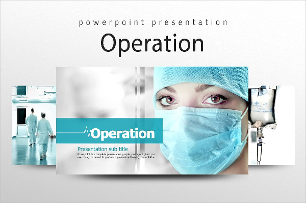 Editable Operation PPT Template