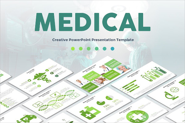 Creative Medical Powerpoint Template