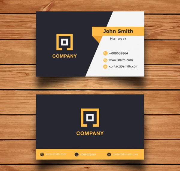 Corporate Business Cards Design Free Download