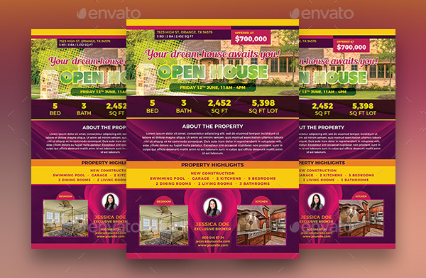 Mortgage Open House Flyers