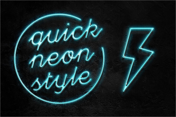 Neon Pro Text Effect