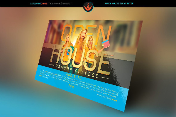 Open House Event Flyer Template