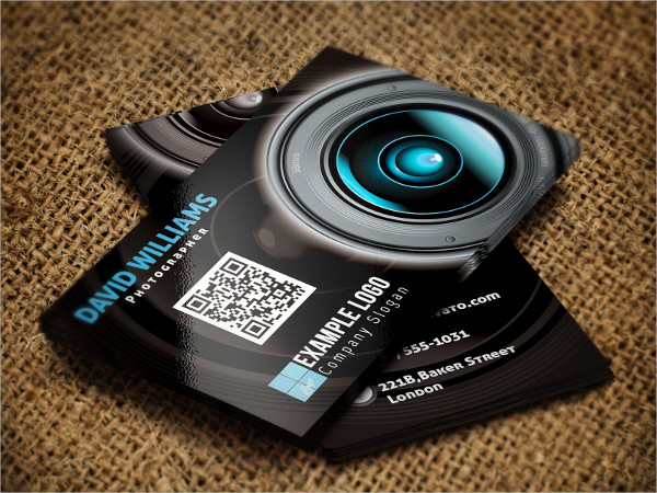 Personal Photographer Business Card