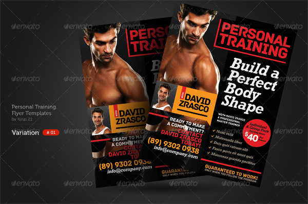 Best Personal Training Flyers