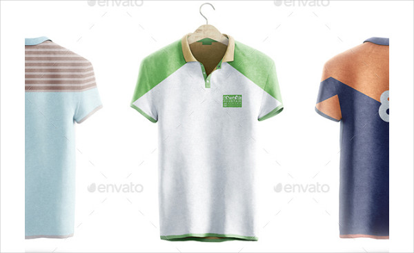 Polo Shirt Animated Mockup Template