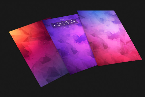 Polygon Colorful Backgrounds
